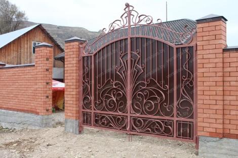 Ворота кованые в Минске
